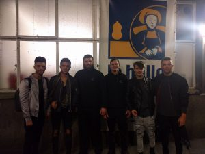Union J with AVT Secuirty Events Stewards